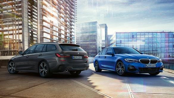 Unsere aktuelle Aktionen & Angebote: Der BMW 3er. Optional mit Leasingratenversicherung und dem Servicepaket – Wartung und Reparatur