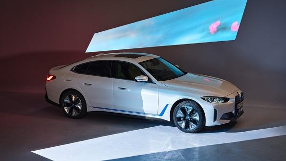 BMW i4: Das erste vollelektrische Gran Coupé